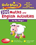 Parragon Books - Gold Stars Goldstars Bumper Workbook 200 Maths And English Activities Key Stage 1 (Gold Stars Bumper Workbooks)