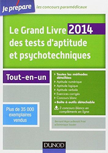 Le Grand Livre 2014 des tests d'aptitude et psychotechniques