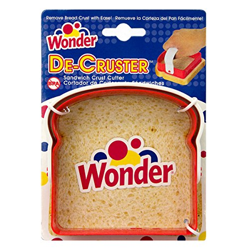 Wonder Bread Sandwich De-Cruster with Handle Slices Crust Remover Lunch Cutter (Sandwich Cutter And Decruster compare prices)