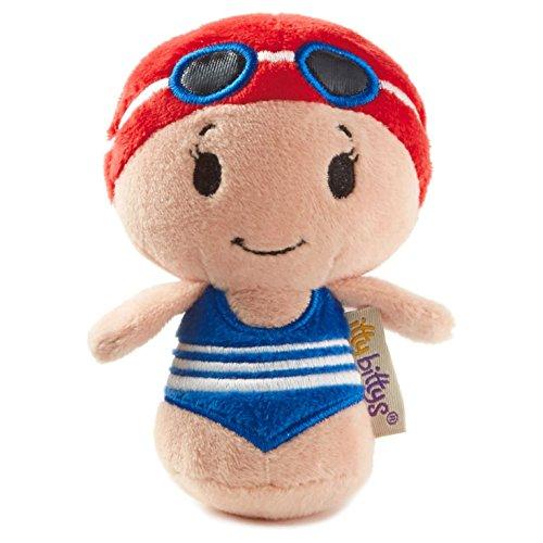 Hallmark-itty-bittys-Limited-Edition-Swimming-Girl-Stuffed-Animal
