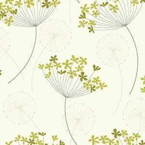i love wallpaper capri tapete gr n cremefarben. Black Bedroom Furniture Sets. Home Design Ideas