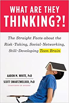 Cover of What are they thinking?!: the straight facts about the risk-taking, social-networking, still-developing teen brain.