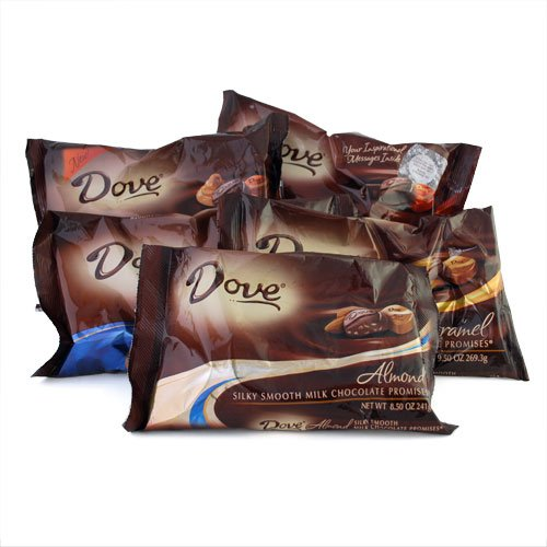 DOVE ダヴ プロミス シルキースムースチョコレート 5種類セット