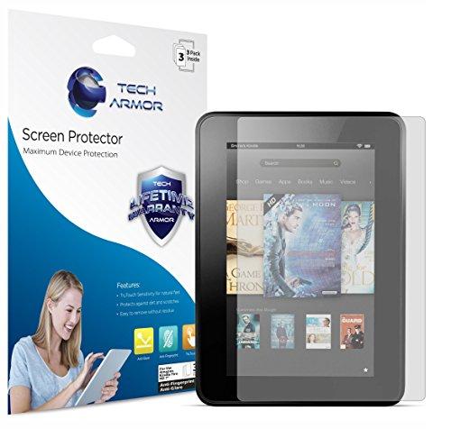 Kindle-Fire-HD-Screen-Protector-Tech-Armor-Anti-GlareAnti-Fingerprint-Amazon-Kindle-Fire-HD-7-2013-Film-Screen-Protector-3-Pack