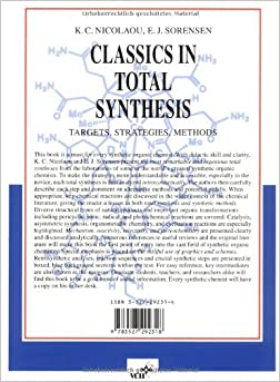 classics in total synthesis targets strategies methods pdf