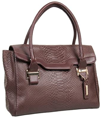 Cole Haan Chrystie Street Claire Mini Satchel,Dark Mocha,one size