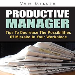 Productive Manager | Livre audio