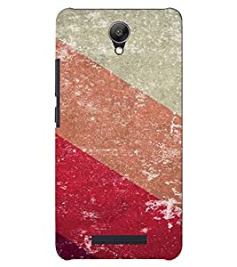 PrintVisa Colorful Stripes Pattern 3D Hard Polycarbonate Designer Back Case Cover for Xiaomi Redmi Note 2