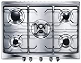 70cm 5 Burner Cucina Gas Hob Stainless Steel (SE706SX3_SS)