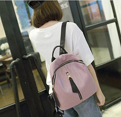 GQ-WOMEN BAG 2016 nuovo zaino in pelle borsetta moda borsa a tracolla donna coreana mucca cuoio Borsa versatile multiuso , 4