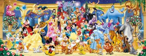 Ravensburger Disney Panoramic 1000pc Jigsaw Puzzle