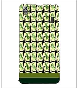 PrintDhaba Zebra pattern D-1810 Back Case Cover for LENOVO A7000 (Multi-Coloured)