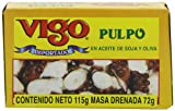 Vigo Octopus in Soy and Olive Oil, 4-Ounce Cans (Pack of 10)