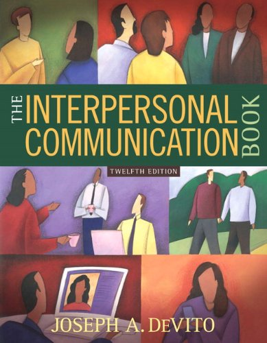 The Interpersonal Communication Book 12th Edition