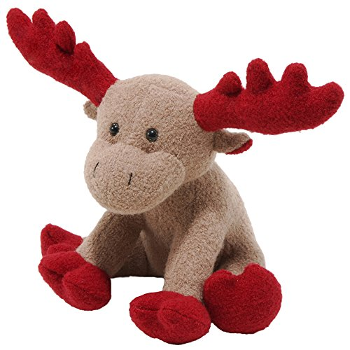 Jax and Bones Red Christmas Moose Holiday Woolie Dog ...