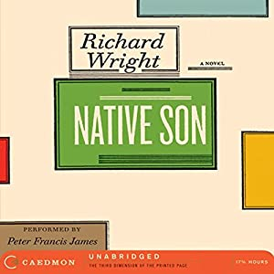 Native Son Audiobook by Richard Wright Narrated by Peter Francis James