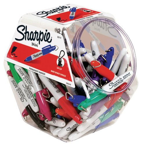 Sharpie Fine Point Mini Permanent Marker Assorted Colors Canister With 72 Pens 35111 Otipuzxcfzfasrtqwszza