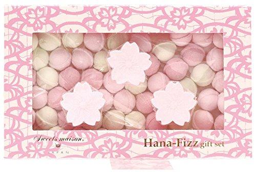 ノルコーポレーション お風呂用 芳香剤 スウィーツメゾン ジャパン 花フィズ ギフトセット 105g 桜 OBーSMWー4ー2