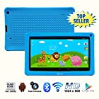 * Independence Day * Contixo 9 Inch Quad Core Android 4.4 Kids Tablet, HD Display 1024x600, 1GB RAM, 8GB Storage, Dual Cameras, Wi-Fi, Bluetooth 4.0, Kids Place App & Google Play Store Pre-installed, 2015 May Edition, Kid-Proof Case (Blue)