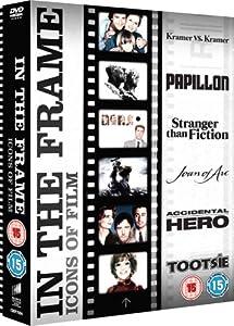 Dustin Hoffman - In The Frame Collection (Papillon, Kramer vs Kramer, Tootsie, Stranger Than Fiction, Joan of Arc, Accidental Hero) [DVD]