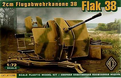 Maquette Canon anti-aérien allemand 20 mm Flak 38