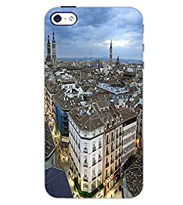 APPLE IPHONE 4S CITY VIEW Back Cover by PRINTSWAG