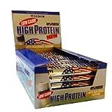 Weider 40% High Protein Low Carb 20 EiweissRiegel / Proteinriegel a 100g, gemischt