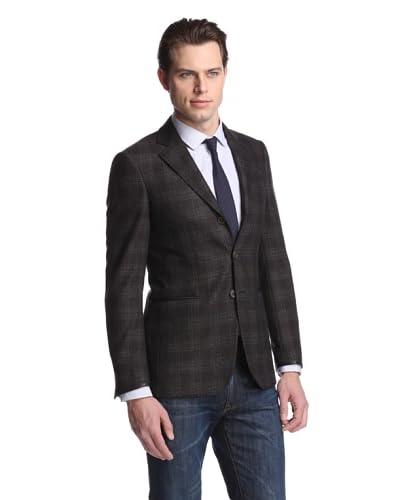 John Varvatos Men's Hampton Three Button Sportcoat