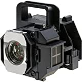 Guaranteed For One Year Epson ELPLP49 V13H010L49 Premium Replacement DLP LCD Cinema Projector Lamp With Housing