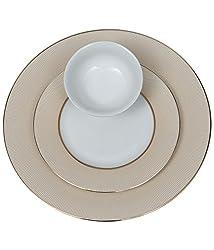 Lakline Porcelain Dinner set of 18 Pieces - HL80140