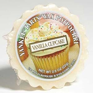 Yankee Candle (Bougie) - Vanilla Cupcake - Tartelette en cire