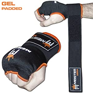Meister Gel-Padded ProWrap Hand Wrap Gloves (Pair)