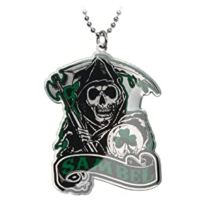 sons of anarchy green sambel pendant necklace