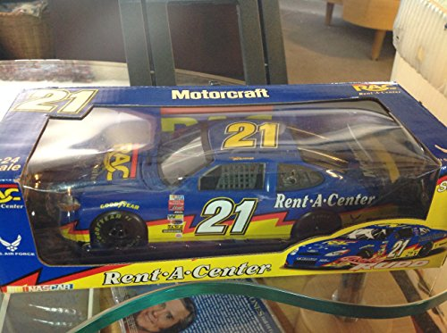 nascar-motorcraft-rent-a-center-us-air-force-diecast-car-ricky-rudd-21-124-scale