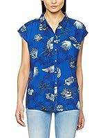 Lee Camisa Mujer Sl Night (Azul)