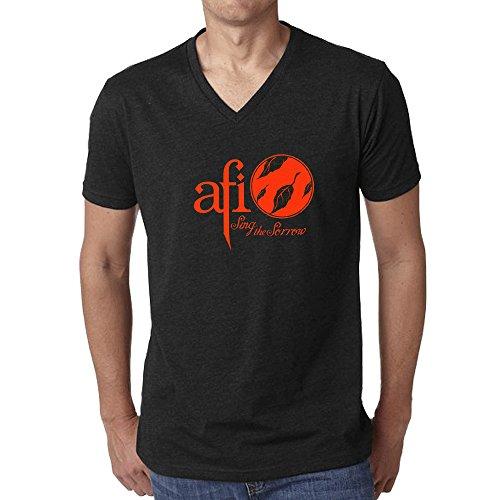 afi-sing-the-sorrow-t-shirt-for-men-v-neck-black