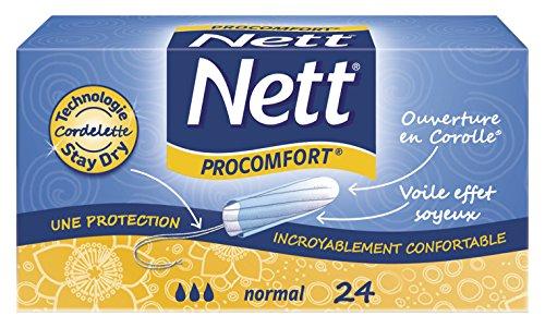 nett-pro-comfort-normal-boite-de-24-tampons-digitaux-lot-de-4