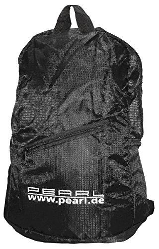 pearl-faltbarer-rucksack-15l-160g-wasserabweisend-beschichtet-schwarz