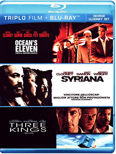 Ocean's eleven - Fate il vostro gioco + Syriana + Three kings [Blu-ray] [IT Import]