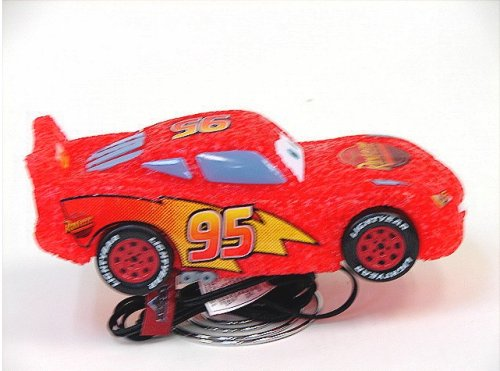 Cars Lamp Disney Pixar Red Car Shaped Lamp #95