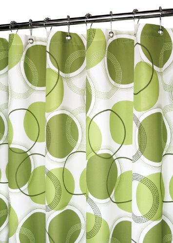Best Lime Green Shower Curtain Fabric Or Plastic Shower Curtains