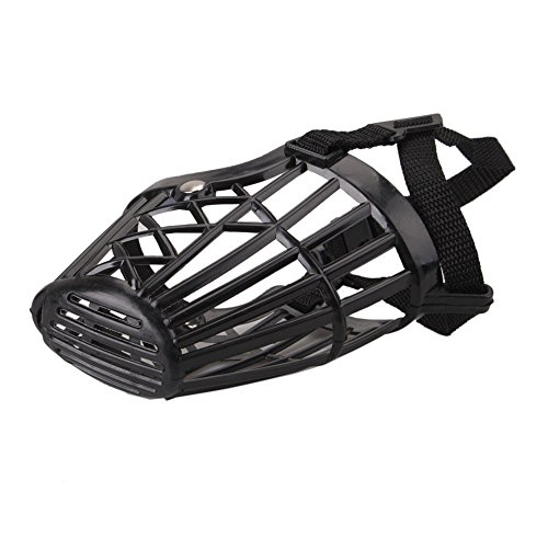 Plastic Basket Muzzle For Dogs front-1056007