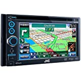 JVC KWNT30HD 6.1-Inch 2-DIN Navigation Touch HD Radio