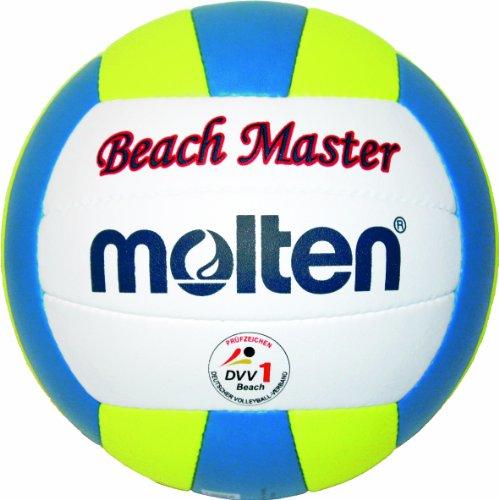 Molten Beach-Volleyball MBVBM, WEISS/GELB/BLAU, 5