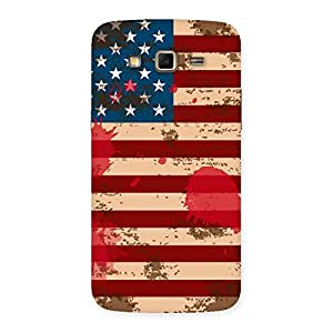 Special Grunge USA Flag Multicolor Back Case Cover for Samsung Galaxy Grand 2