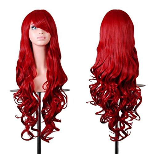 Long Red Wig for Poison Ivy Character.