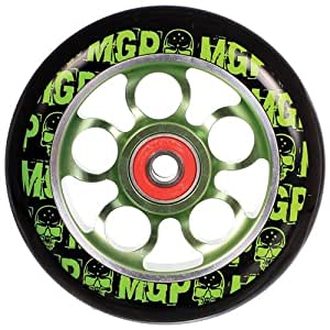 Amazon.com : Madd MGP Aero Roue aluminium pour trottinette Vert 100 mm