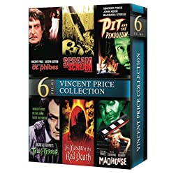 Vincent Price: 6 Movie Marathon Collection