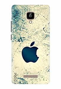 Noise Designer Printed Case / Cover for Lava A48 / Patterns & Ethnic / Steve In Apple