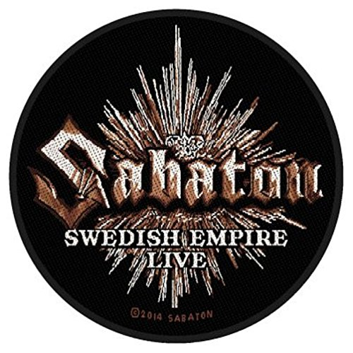 Sabaton - Swedish Empire Live - / Patch in gomma